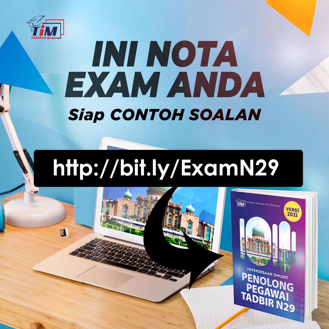 Nota Rujukan Contoh Soalan PSEE N29