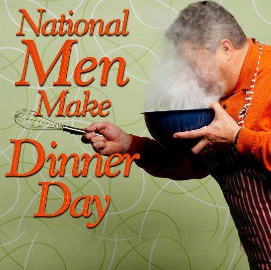National Men Make Dinner Day Wishes for Whatsapp