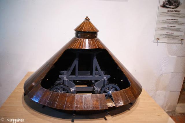 Modellini delle invenzioni di Leonardo a Le Clos Lucé