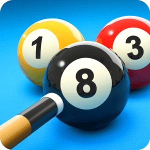 لعبة بلياردو 8 مهكرة جاهزة مجانا، التهكير رؤية + خط