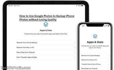 How to Use Google Photos to Backup iPhone Photos without Losing Quality