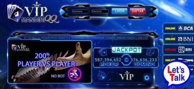 VIPMANDIRIQQ.COM BANDARQ | DOMINO99 | DOMINOQQ | SITUS JUDI ONLINE