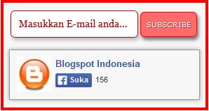 cara membuat widget subscribe di blog
