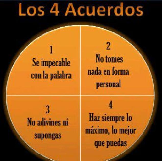 Despertando Conciencias: Los cuatro acuerdos toltecas