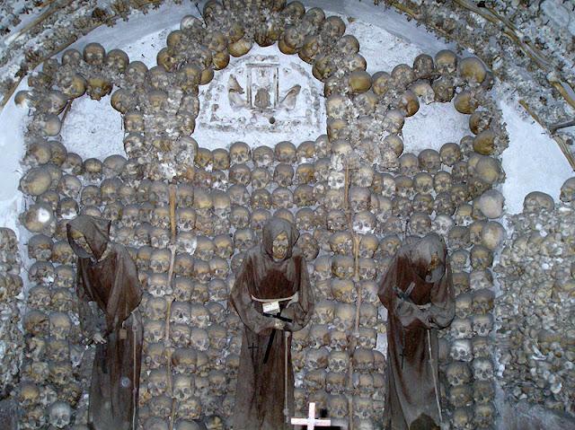 The ossuary of Sedlec.