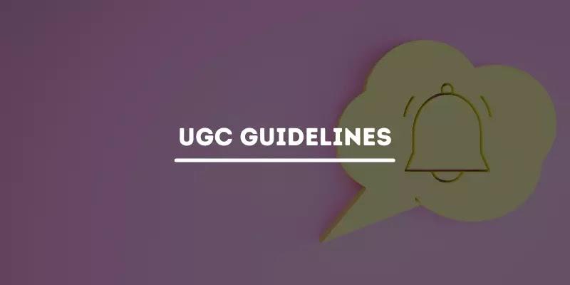 UGC Guidelines on Examinations & Academic Calendar July 2021 - PDF