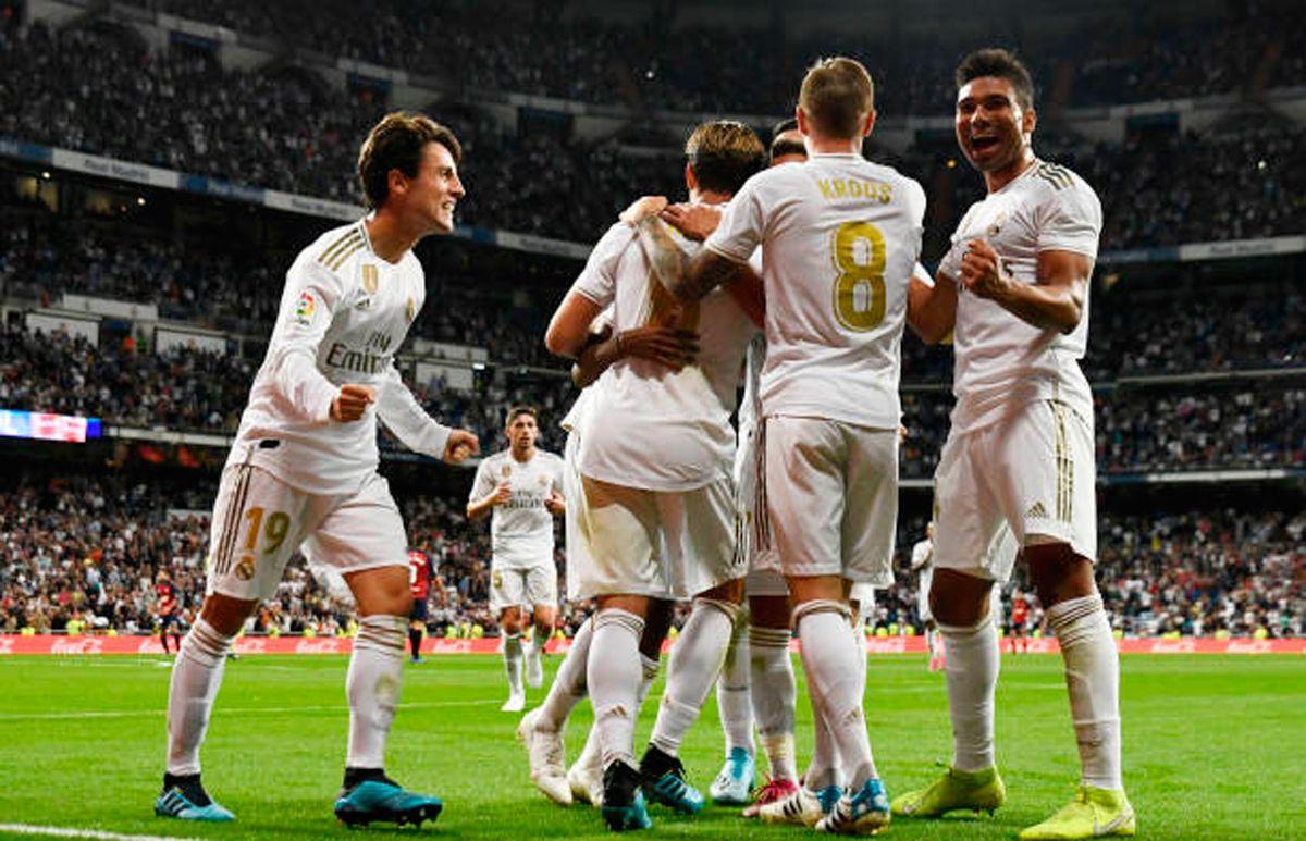 نتيجة مباراة ريال مدريد وكلوب بروج اليوم الثلاثاء 01/10/2019 دوري أبطال أوروبا