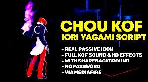 Chou KOF Skin Script No  Password Free Downlaod