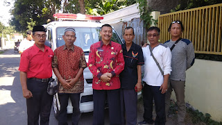 Yayasan Khusnul Khotimah Kota Cirebon Dapat Ambulans