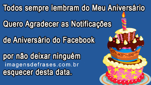 notificações de aniversario no facebook