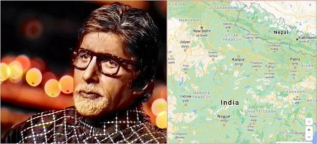 Amitabh Bachchan's voice in Google Maps
