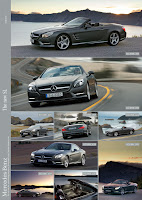 All New Model 2013 Mercedes-Benz SL 500 (U.S. SL550) Roadster Cabriolet Press Official Picture Image Photo Media