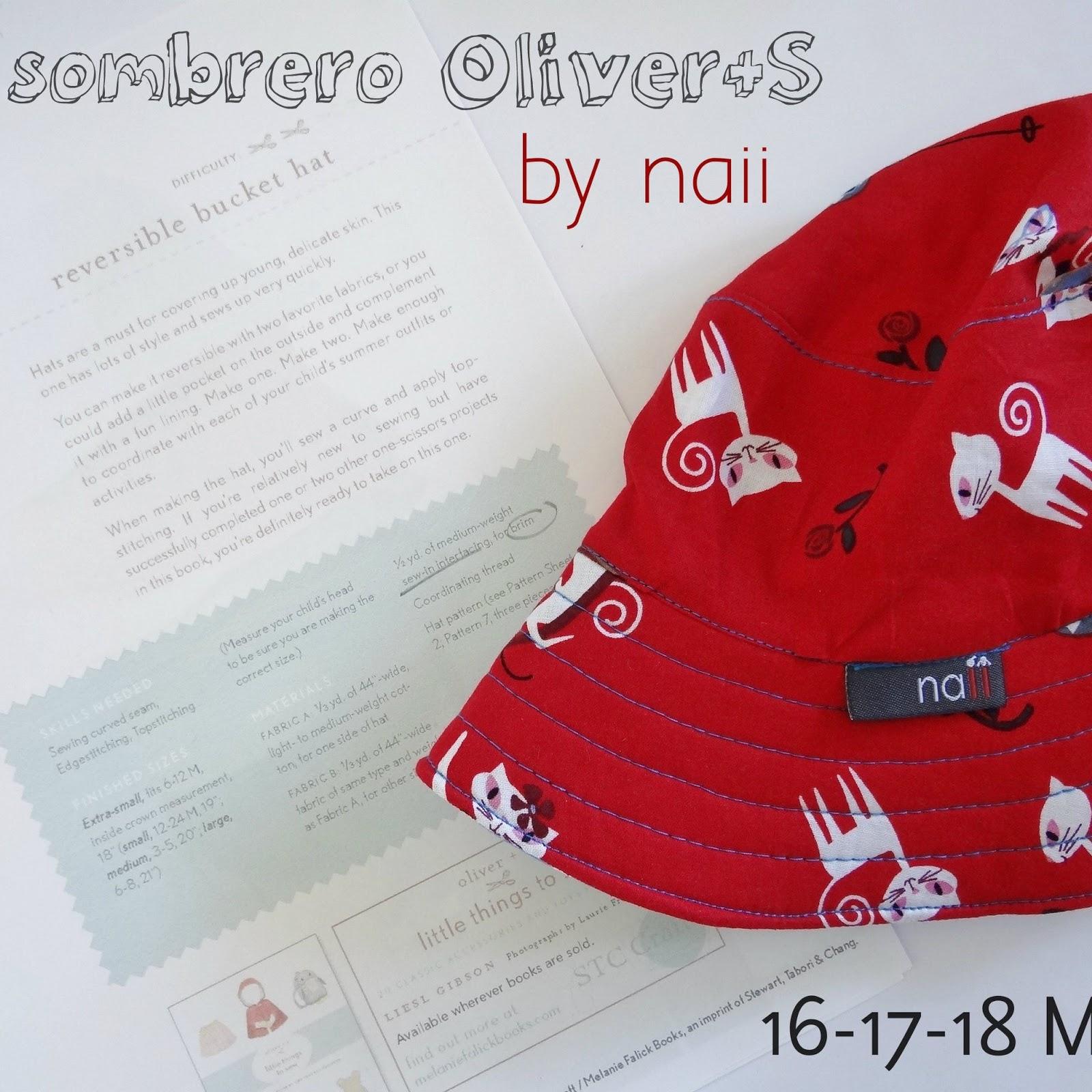 Sombrero Oliver+S chica | Diario de Naii