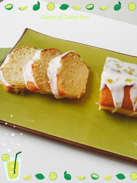 Bizcocho de limón tipo starbucks con glaseado de limón
