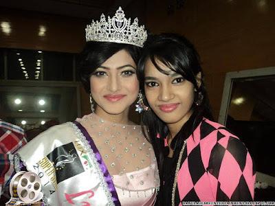 Bangladeshi Lux Superstar 2014  Nadia Afrin Mim