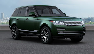 Range Rover Autobiography Dimension