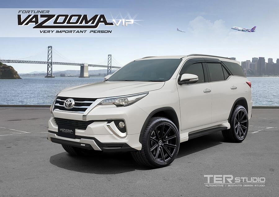Body kit modifikasi untuk Toyota Fortuner ala VIP