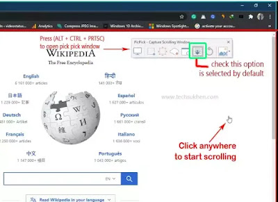 Best Quick Guide About how to take scrolling screenshot in windows 10