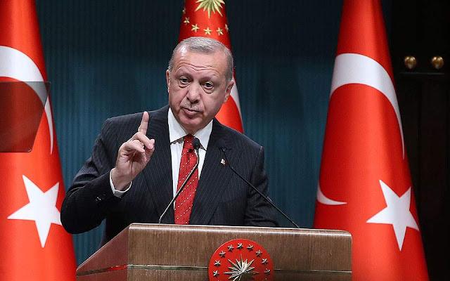 Ερντογάν: Δεν θα τερματίσουμε την επιχείρηση στη Συρία ό,τι και αν λένε