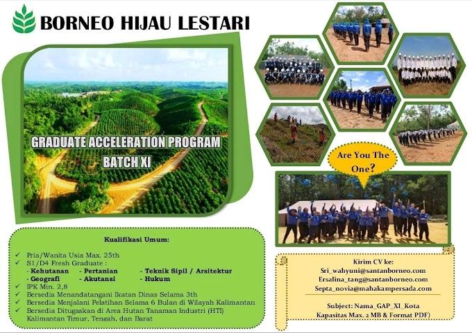 Graduate Acceleration Program Borneo Hijau Lestari