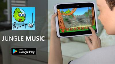 لعبة Jungle Music تعليمية تسمح لك بسهولة بتعلّم قراءة النوتات في جميع المفاتيح الموسيقية