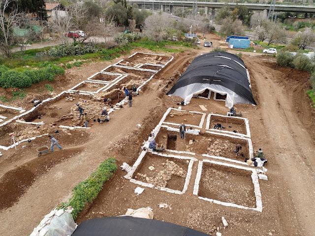 Huge prehistoric settlement exposed near Jerusalem