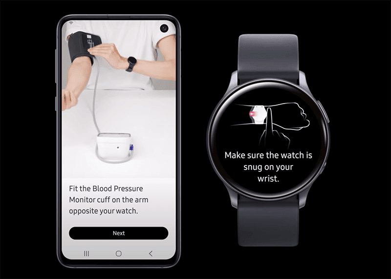 Samsung announces Blood Pressure monitoring app for Galaxy Watches