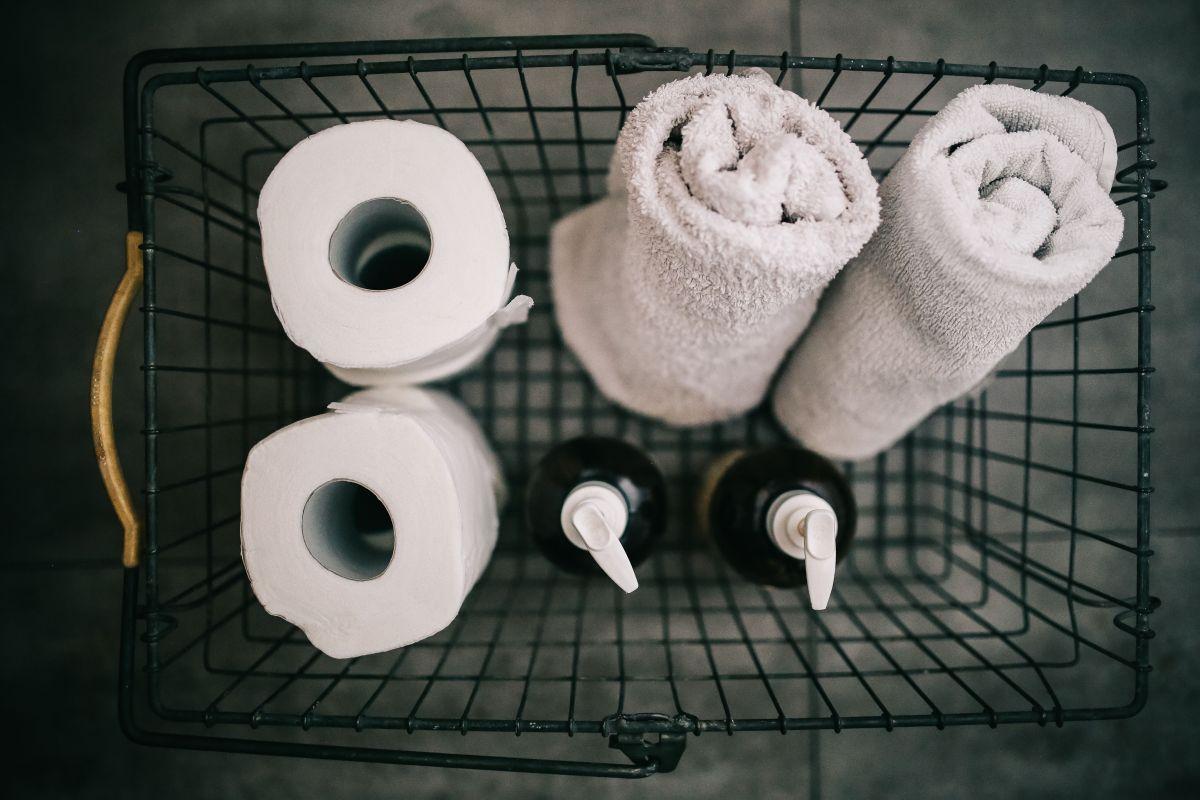 kosz na środki czystości