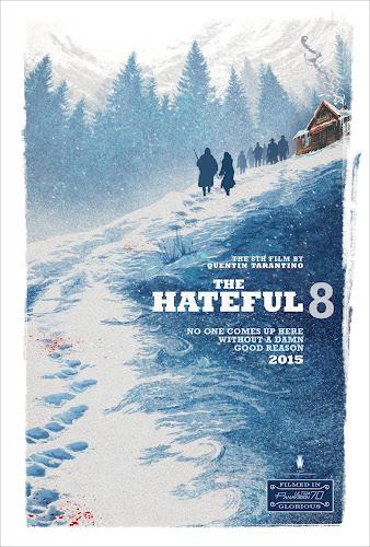 ตัวอย่างใหม่ : The Hateful Eight  (8 พิโรธ โกรธแล้วฆ่า) ซับไทย poster 2