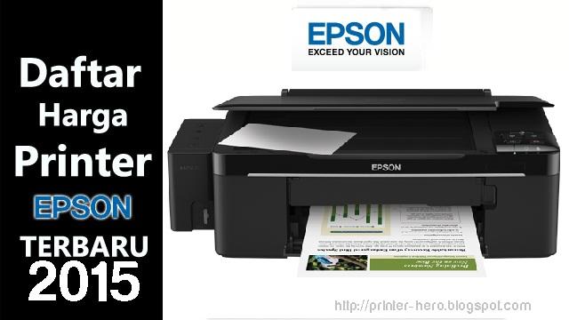 Daftar Harga Printer EPSON Terbaru Agustus  Informasi Daftar Harga Printer Epson Terbaru