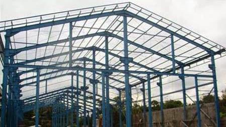 Komponen Utama Bangunan Konstruksi Baja  Rumah Material