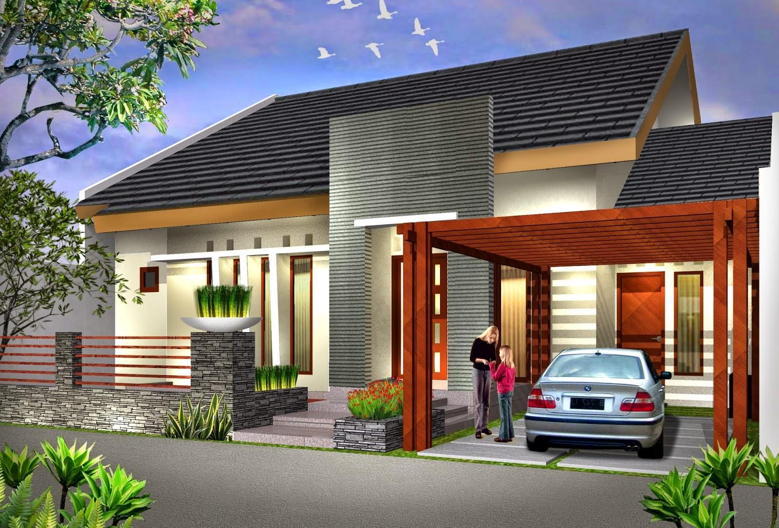 Model Rumah Minimalis Type 22 60 Wallpaper Dinding