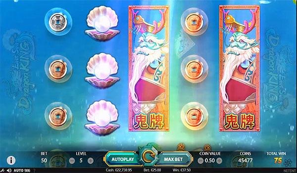 Main Gratis Slot Indonesia - East Sea Dragon King (NetEnt)