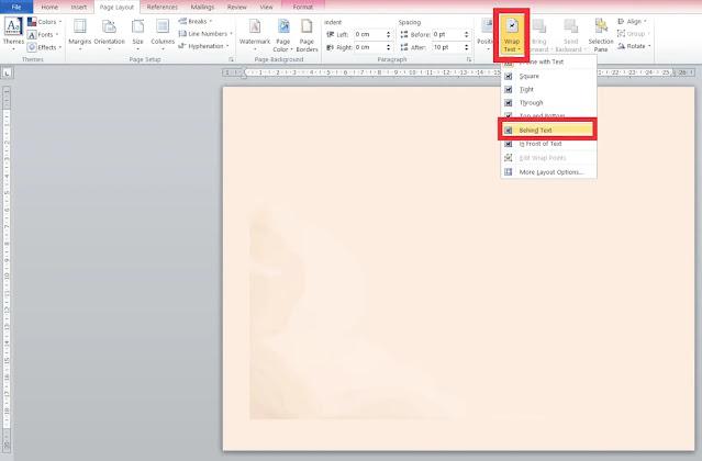 Cara membuat desain undangan dengan microsoft word
