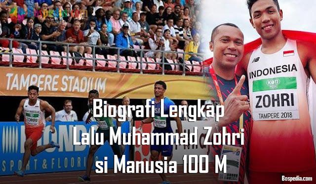 Salah satu putra Indonesia gres saja mengukir prestasi sebagai juara dunia di cabang olahr Biografi Lengkap Lalu Muhammad Zohri si Manusia 100 M