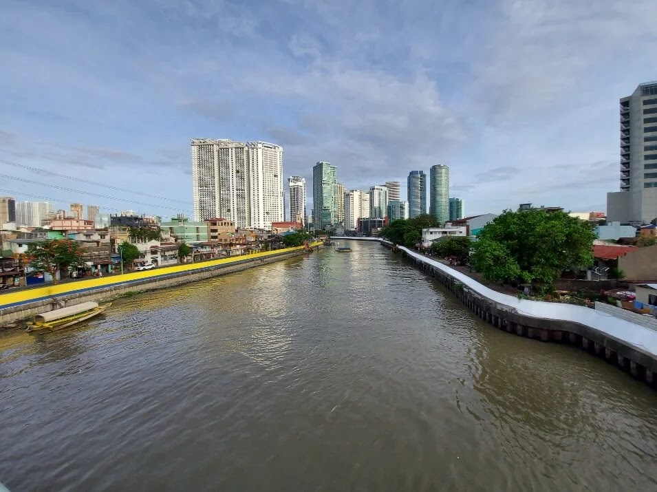 Samsung Galaxy A71 Camera Sample - Outdoor, Afternoon, Pasig River (Ultra-Wide)