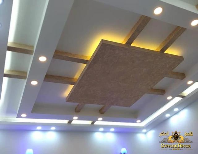 اسقف معلقة بسيطة ناعمة