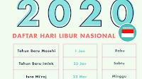 Idul Fitri Tahun 2020 Tidak Ada Cuti Bersama
