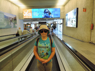 palma mallorca airport travelator