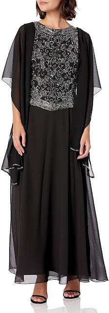 Elegant Black Mother of The Groom Dresses