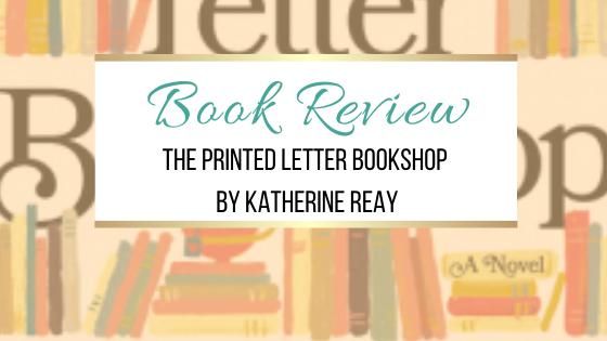 图书评论:Katherine Reay的印刷信Bookshop