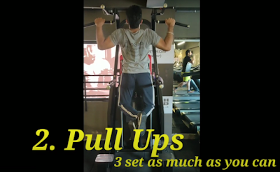 Pull ups For Cricketers