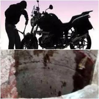Stolen Bikes Found In Water Well News In Hindi New Delhi