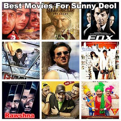 أفضل أفلام سوني ديول على الاطلاق Sunny Deol قائمة أفضل 10 أفلام سوني ديول Poster Boys Yamla Pagla Deewana: Phir Se Blank I Love NY Ghayal Once Again