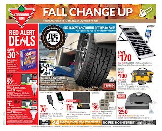 Canadian Tire Flyer October 13 – 19, 2017