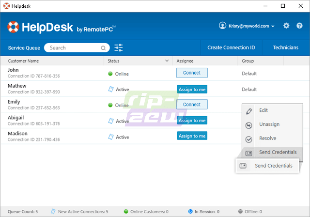HelpDesk by Remote PC