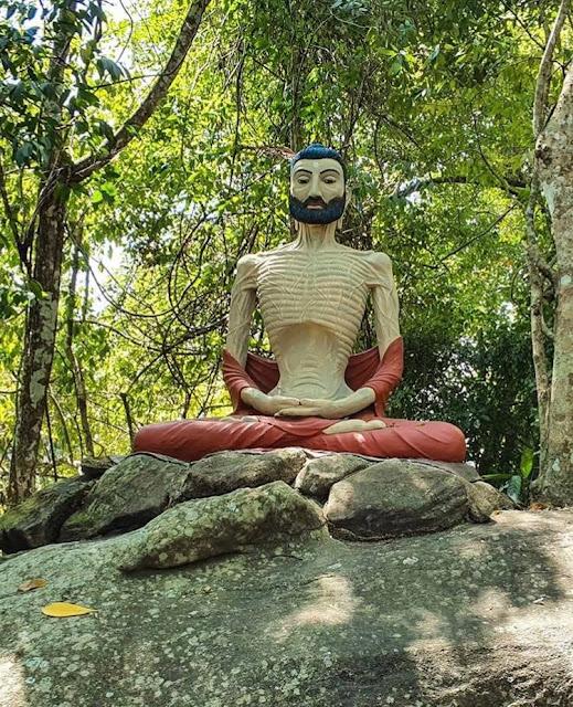 උසම සක්මන් බුද්ධ ප්රතිමාව වැඩහිඳි - රණවන පුරාණ විහාරය ☸️🙏 (Ranawana Purana Viharaya) - Your Choice Way