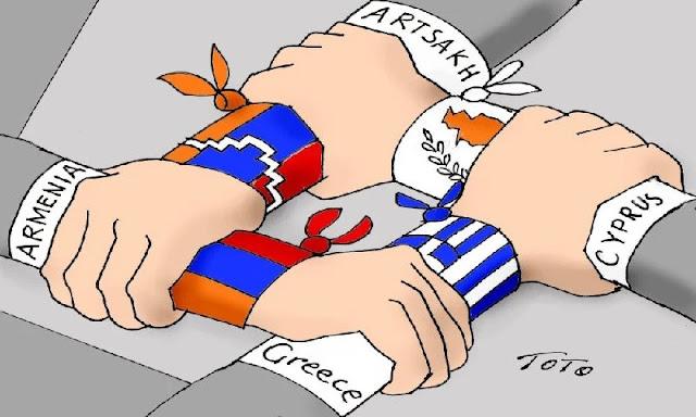 Τουρκικός επεκτατισμός και επιθέσεις σε Αρμενία, Ελλάδα, Κύπρο