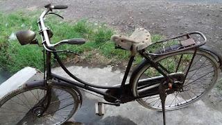 Dijual Sepeda Antik Jaman Jebot Gazella Seri 5