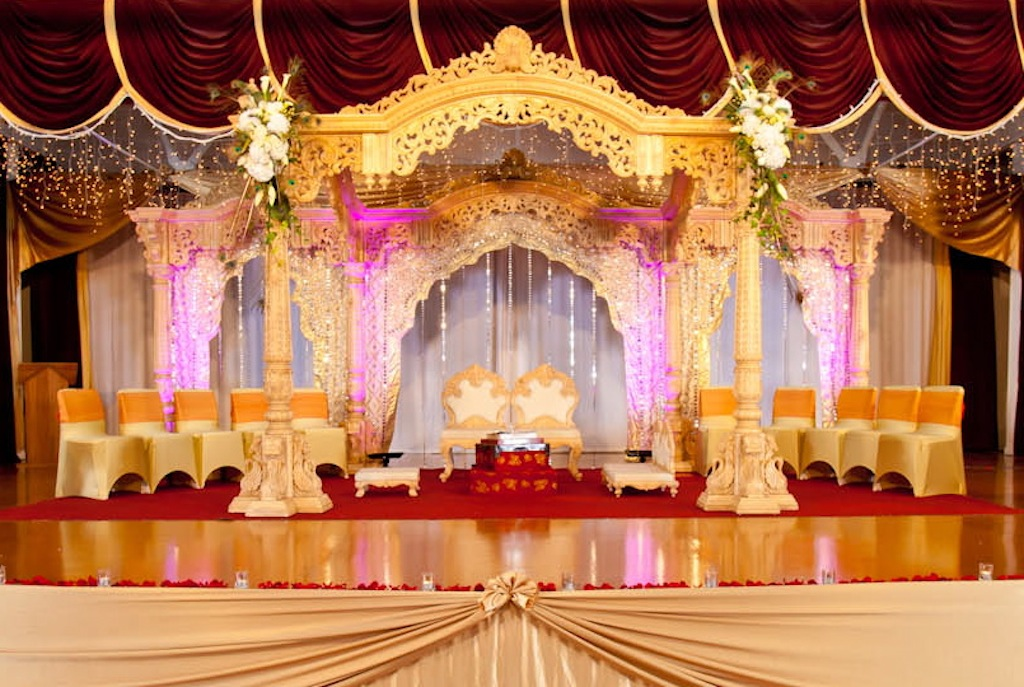 indian wedding decorators chicago significance of mandap in wedding mukta event managers 5098